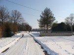 Rancogne sous la neige le 09 février